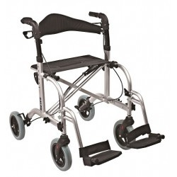 Chodzik aluminiowy z opcją transportu użytkownika