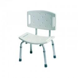 Aluminiowe krzesło prysznicowe