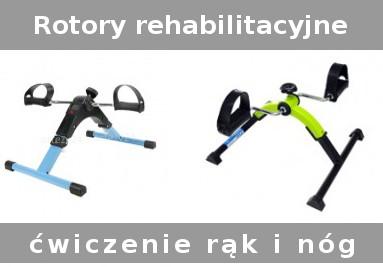 Rotory do ćwiczeń rąk i nóg